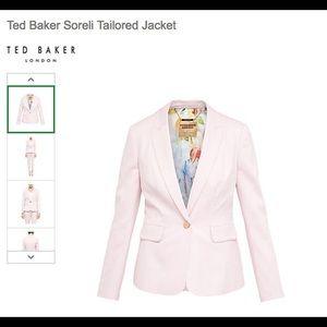 59d28d204 Ted Baker Jackets   Coats -  SOLD  Ted Baker London Soreli Pink Blazer NWOT